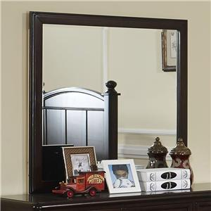 Transitional Framed Mirror