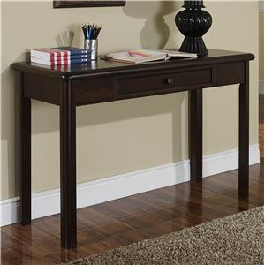 Transitional One Drawer Table Desk