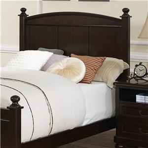 Transitional Full Panel Bed Headboard