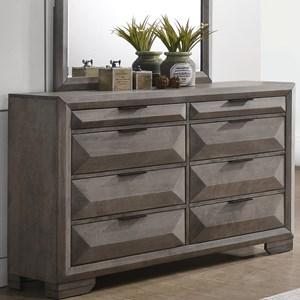 Contemporary 8-Drawer Dresser
