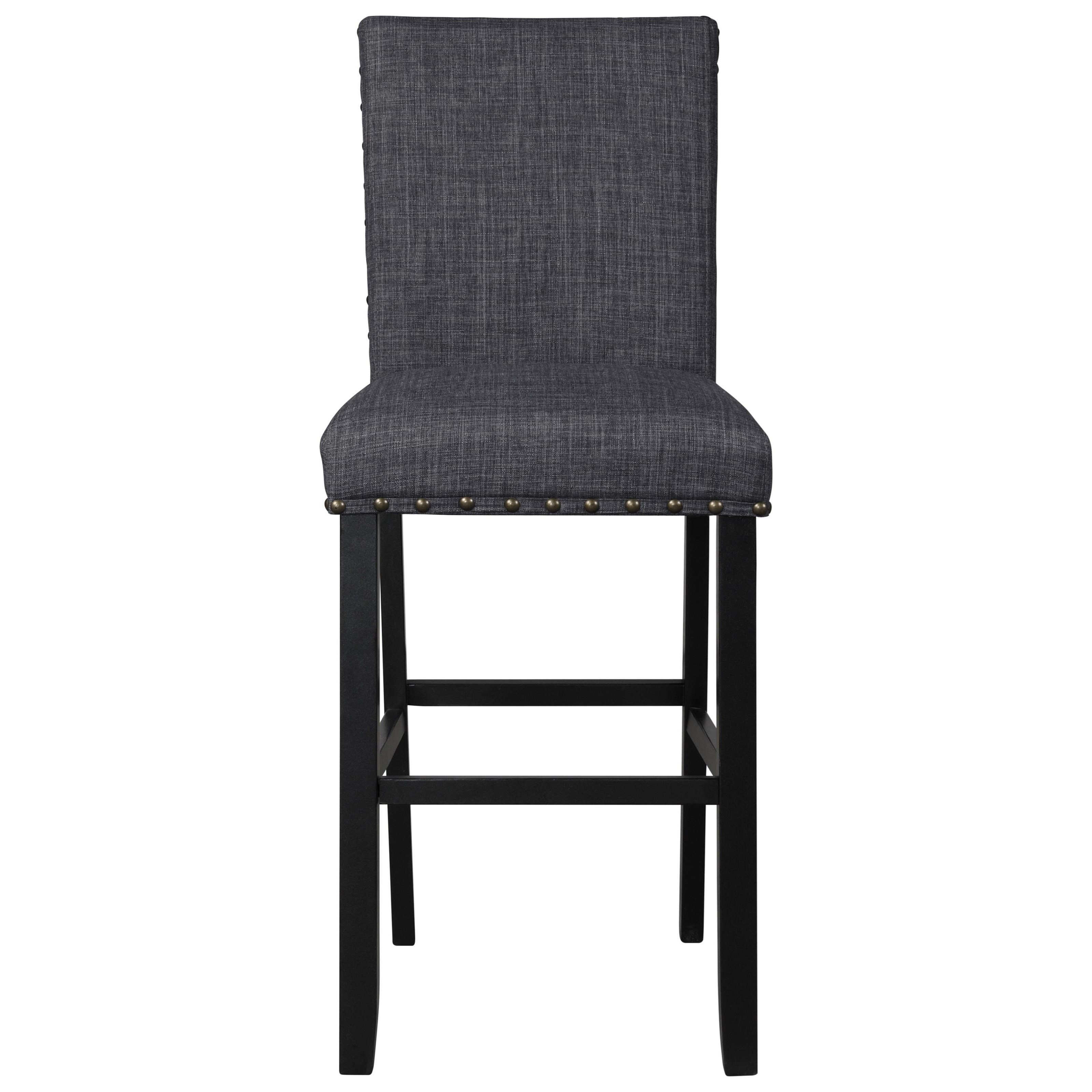 Crispin Bar Stool by New Classic at Beds N Stuff
