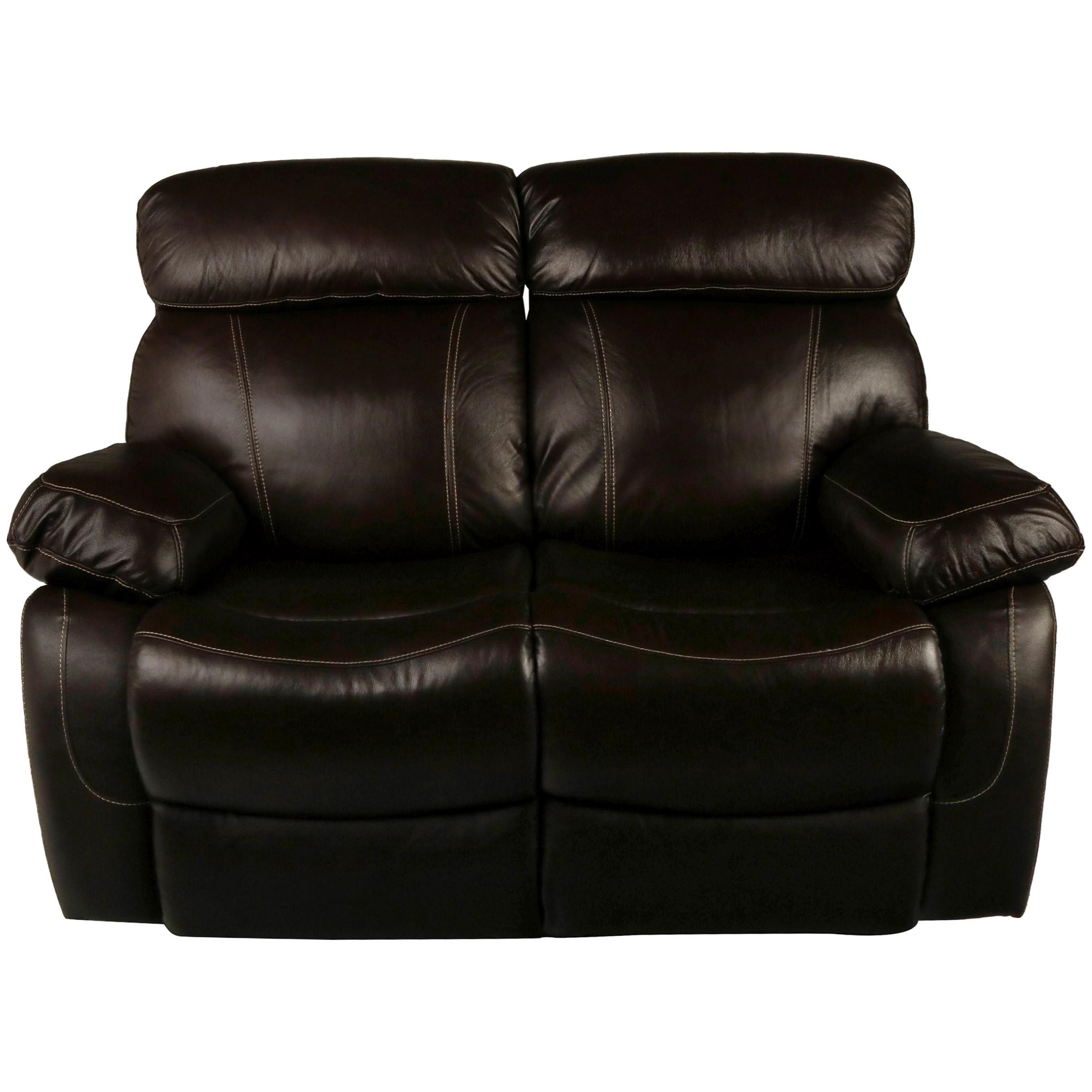 Dante Leather Power Reclining Loveseat by New Classic at Wilcox Furniture