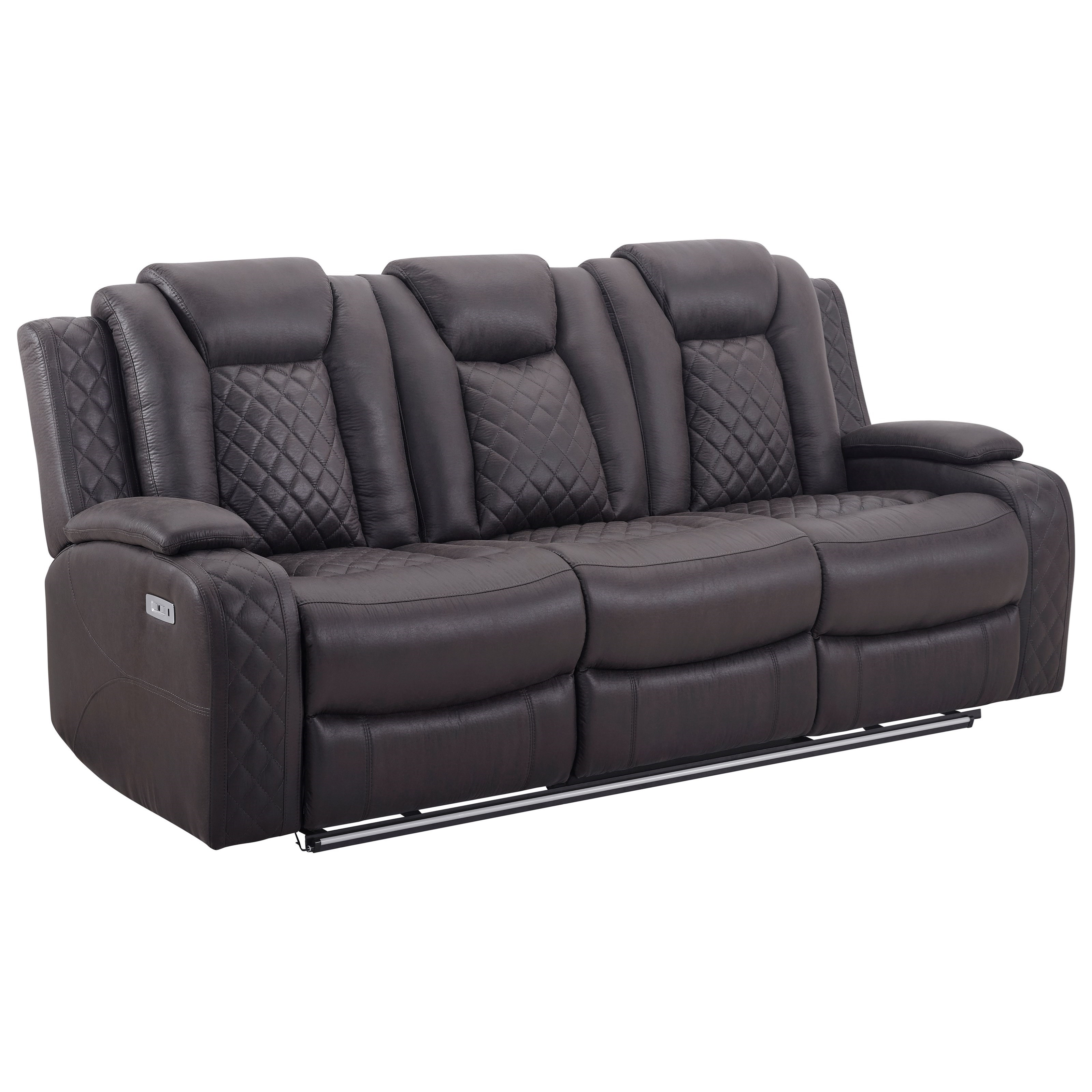Dyer Power Reclining Sofa by New Classic at Rife's Home Furniture