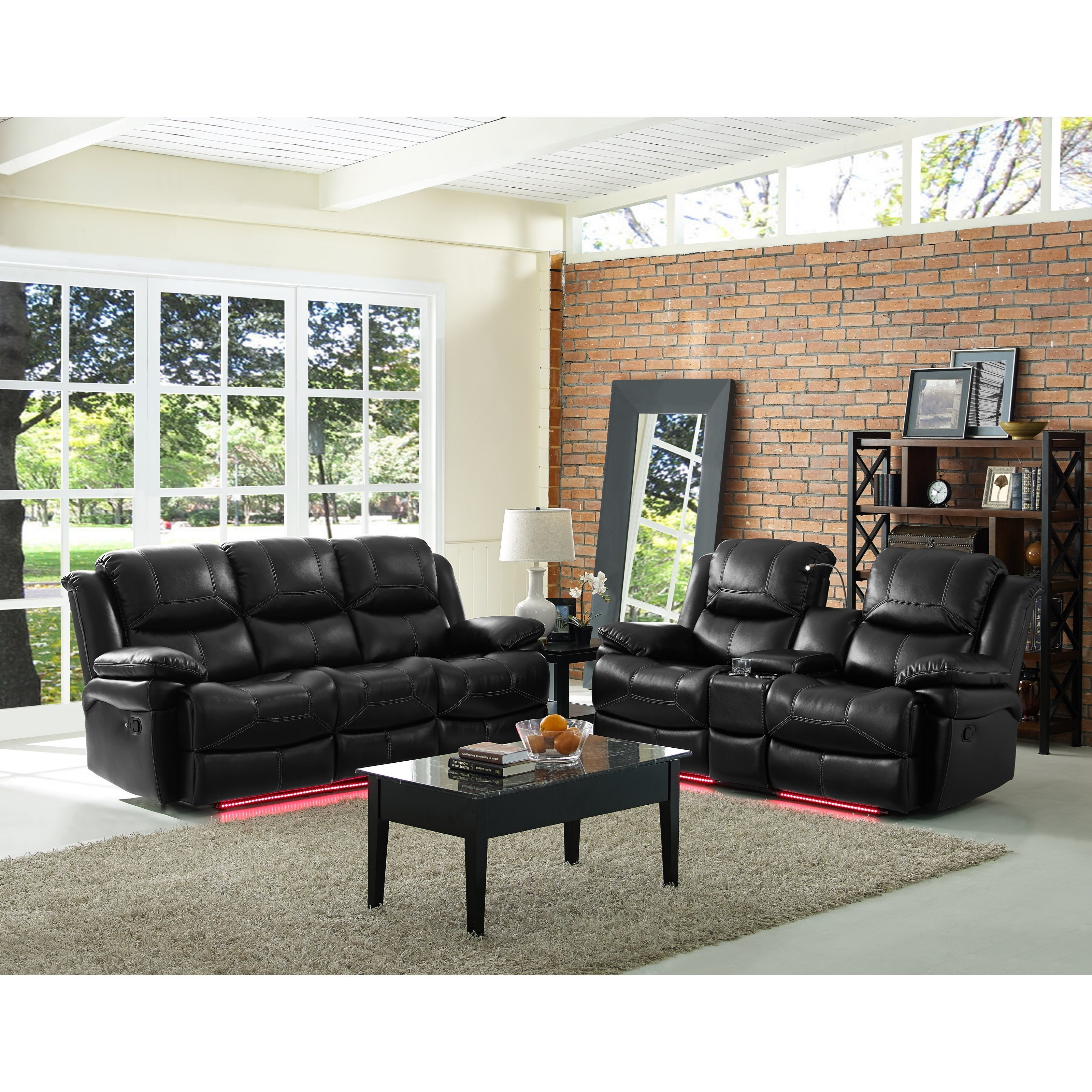 Flynn Power Reclining Living Room Group by New Classic at H.L. Stephens
