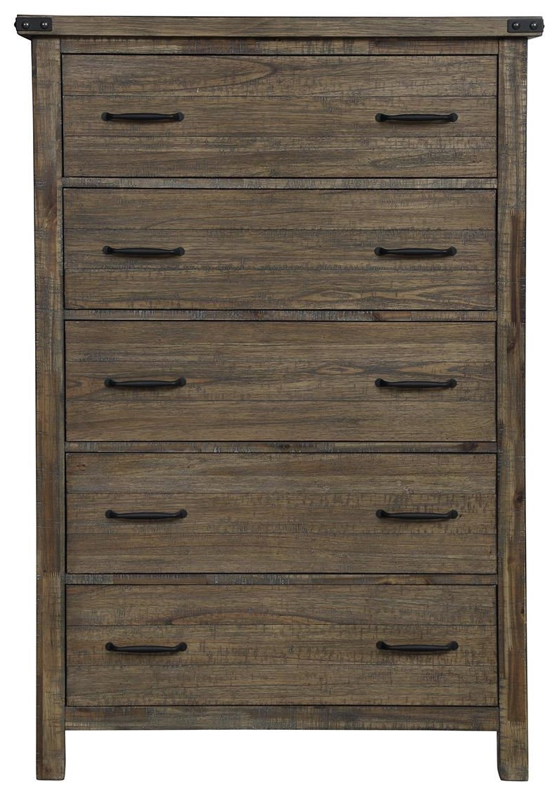 Galleon 5 Drawer Chest by New Classic at Darvin Furniture