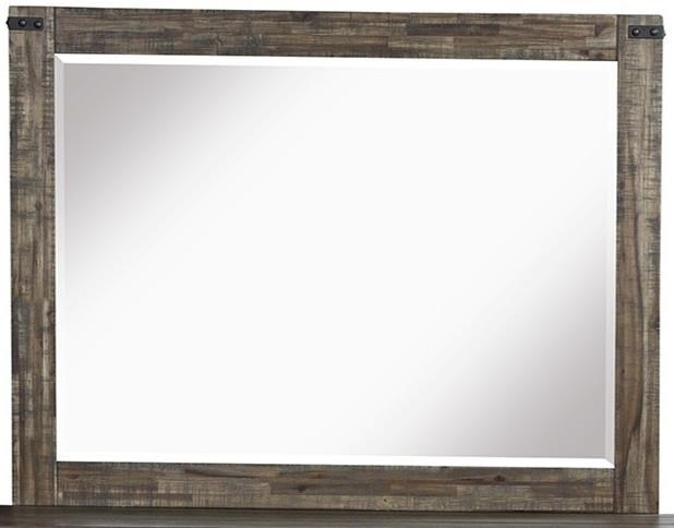 Leon Mirror by NC at Walker's Furniture