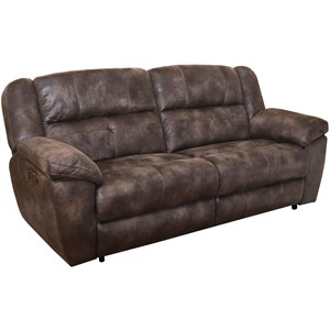 Casual Power Dual Recliner Sofa with Power Headrest and USB Charging Port