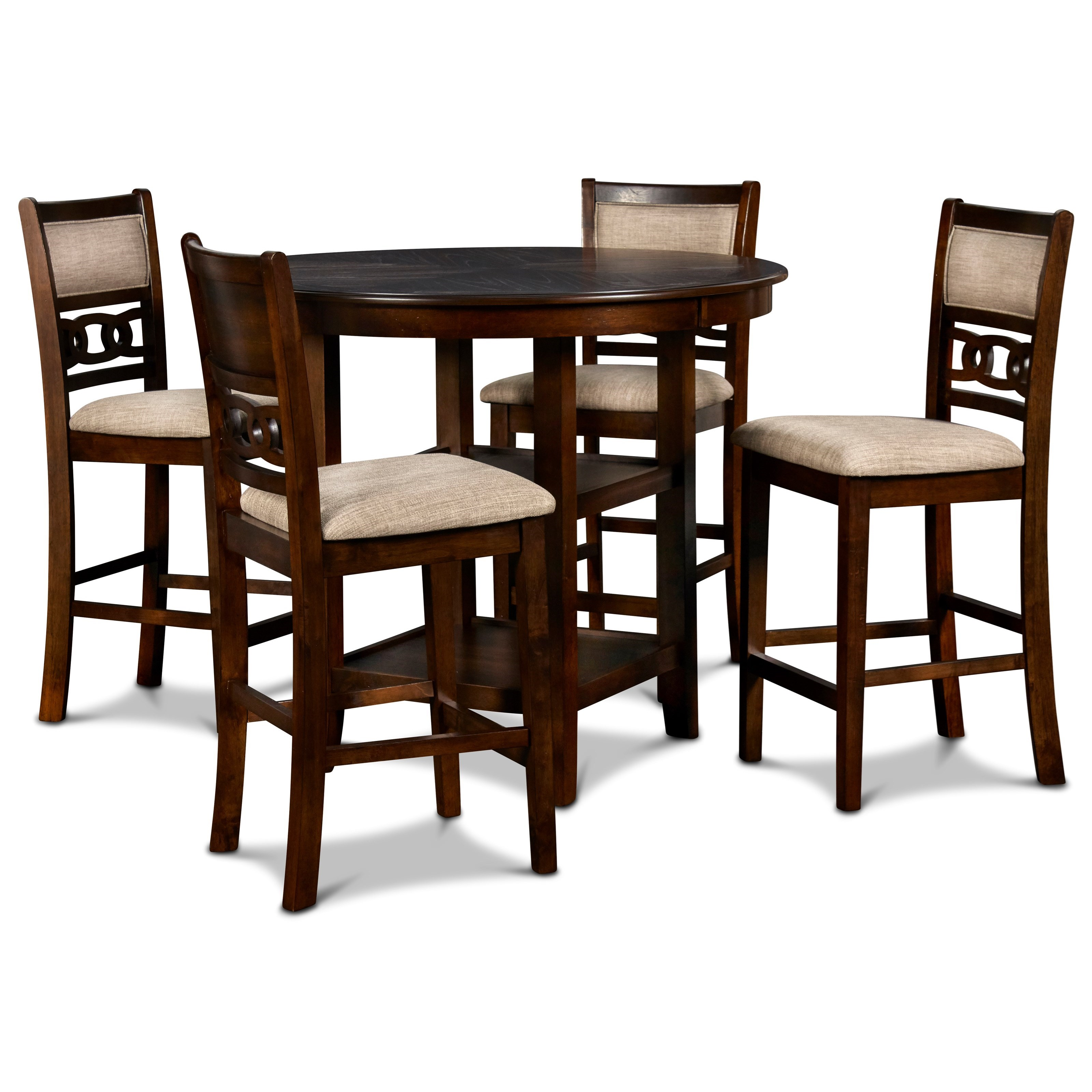 Gia Counter Height Dining Table and Chair Set by New Classic at Beck's Furniture