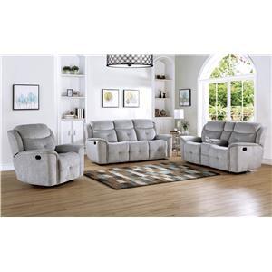Reclining Sofa, Loveseat & Recliner Set