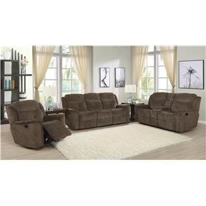 Power Reclining Sofa, Loveseat & Recliner Set