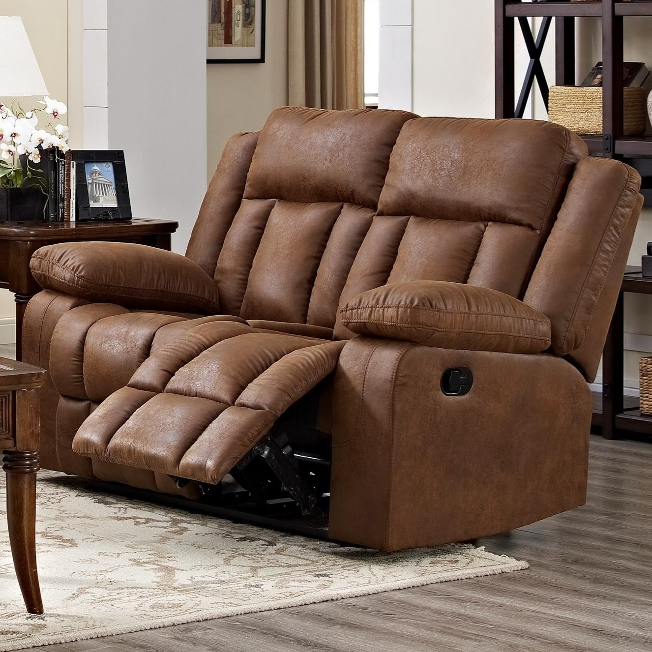 Hayes Power Reclining Loveseat by New Classic at Beds N Stuff