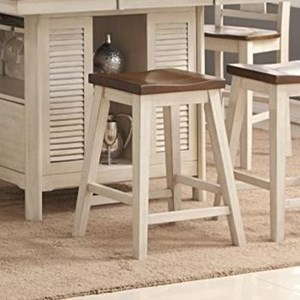Transitional Counter Stool