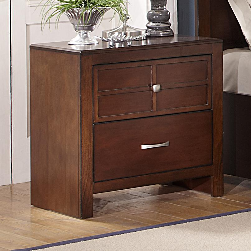 Kensington 2-Drawer Nightstand by New Classic at Rife's Home Furniture
