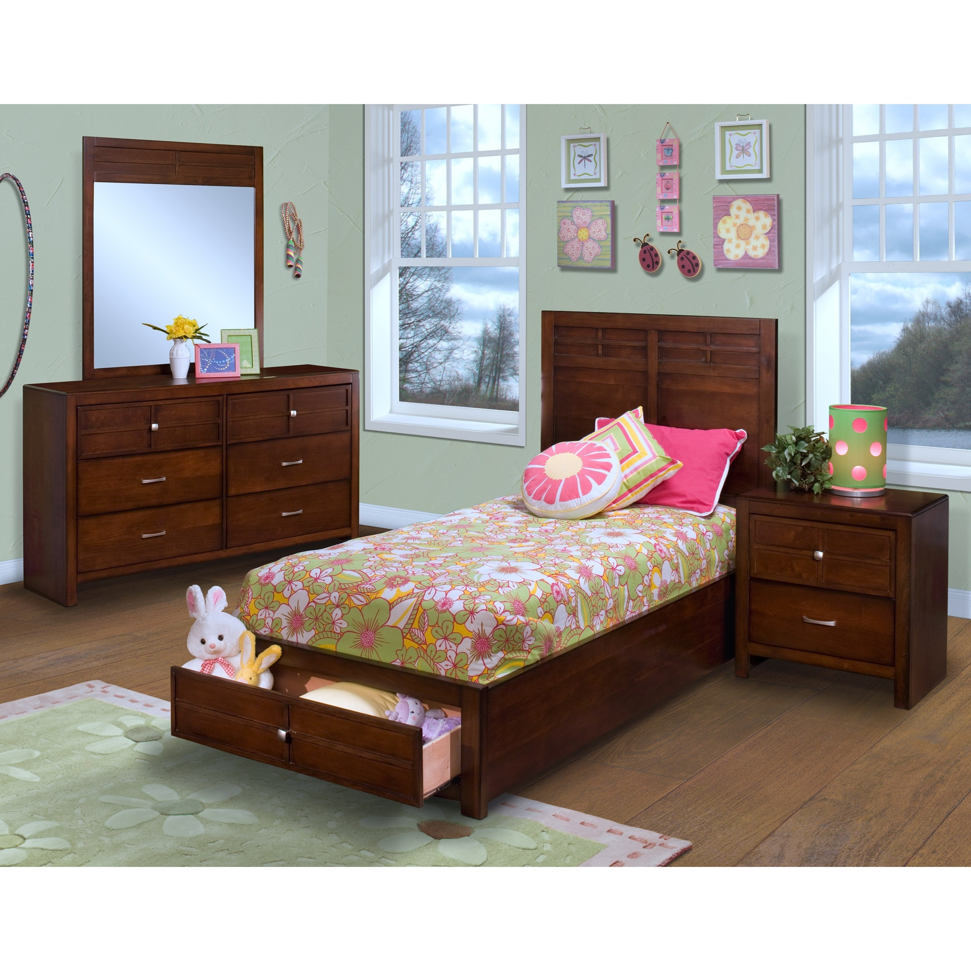 Kensington Twin Bedroom Group by New Classic at H.L. Stephens