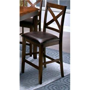 X-Back Counter Height Dining Chair