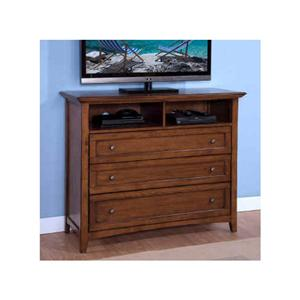 Media Console with 3 Drawers and 1 Shelf
