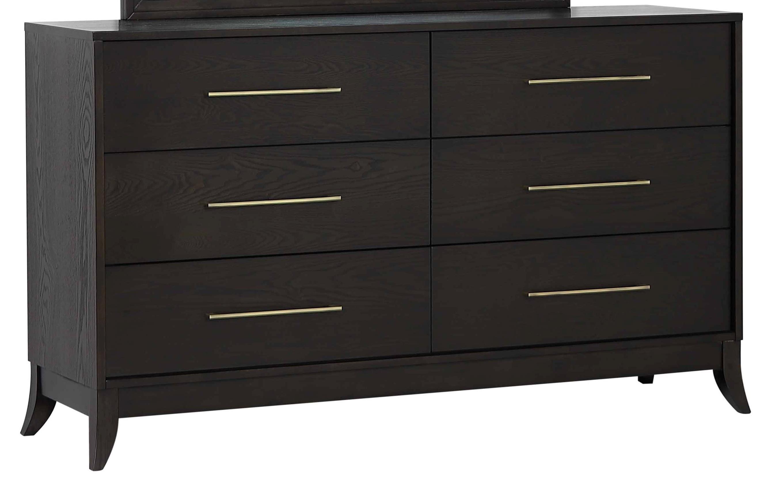 Logan Square Dresser by New Classic at Wilcox Furniture
