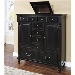 Transitional Mule Chest with Lift Top Storage