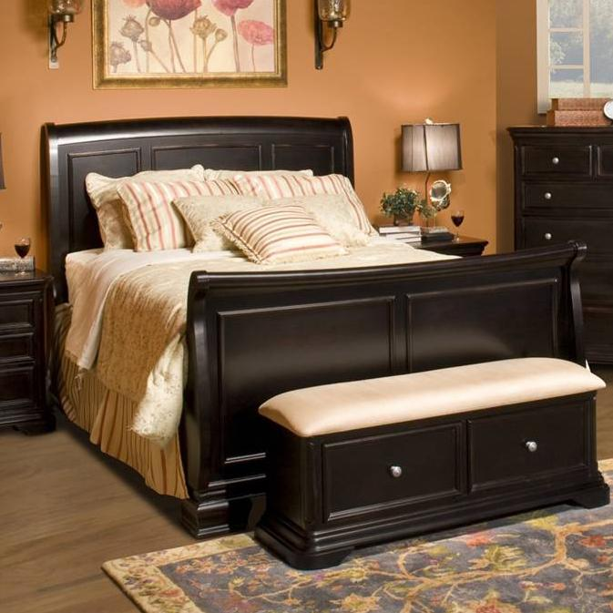 Maryhill Queen Sleigh Bed at Lapeer Furniture & Mattress Center