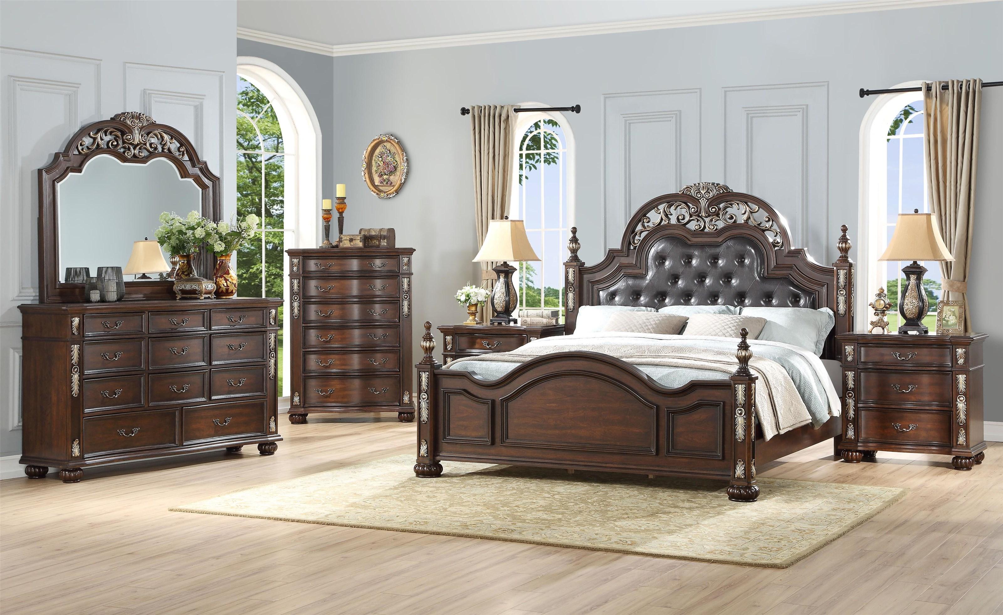 5 PC Queen Bedroom