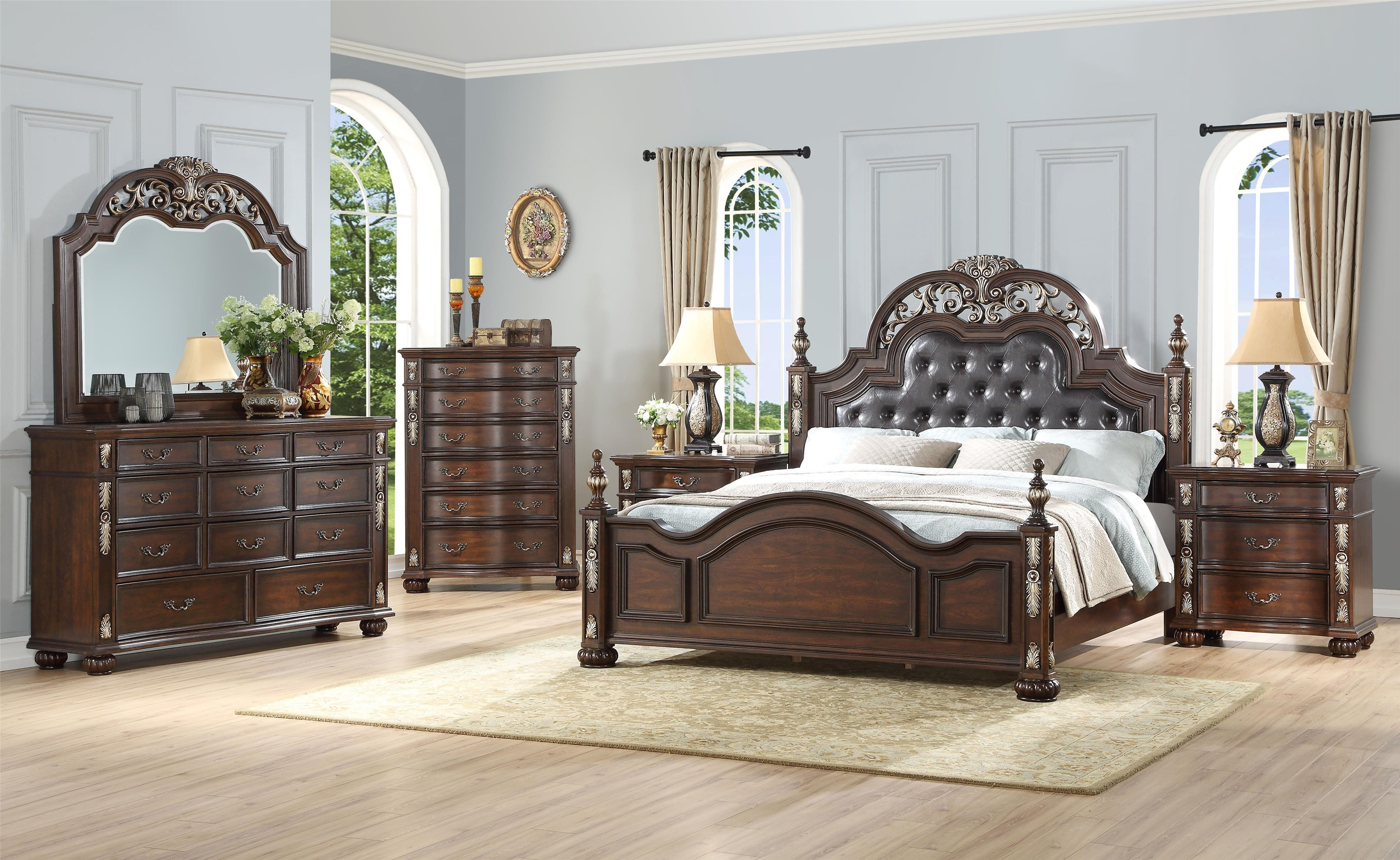 Maximus King Bedroom Group by New Classic at Beck's Furniture
