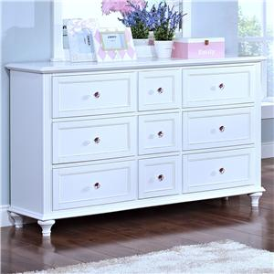 Casual 9 Drawer Dresser