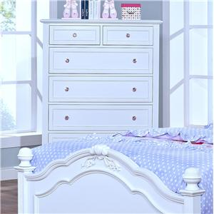 Casual 6 Drawer Chest