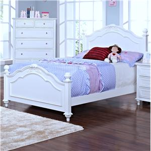 Casual Full Panel Bed