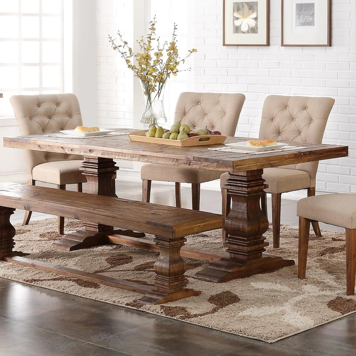 Normandy Dining Table by New Classic at Rife's Home Furniture