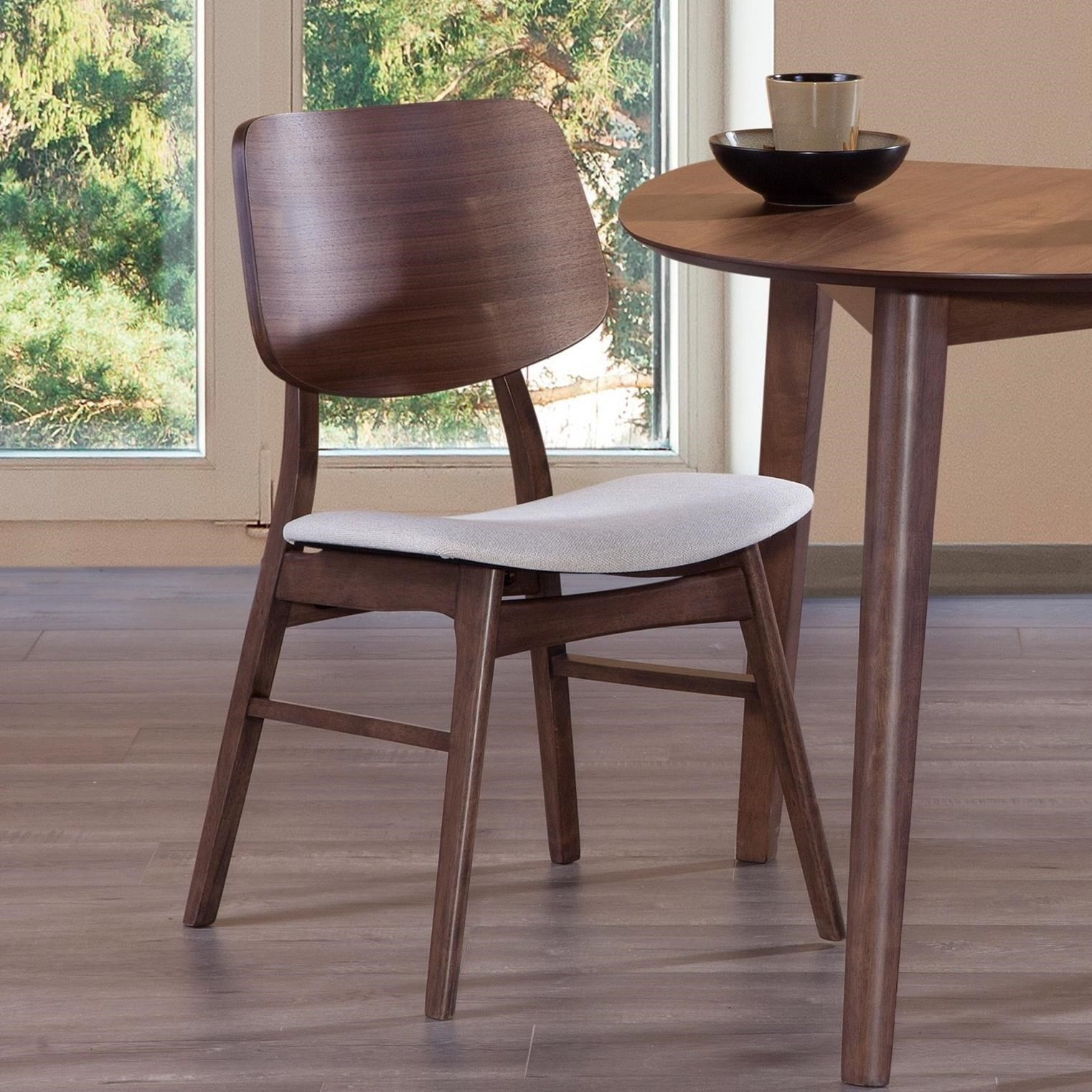 Oscar Wood Back Chair by New Classic at Beck's Furniture