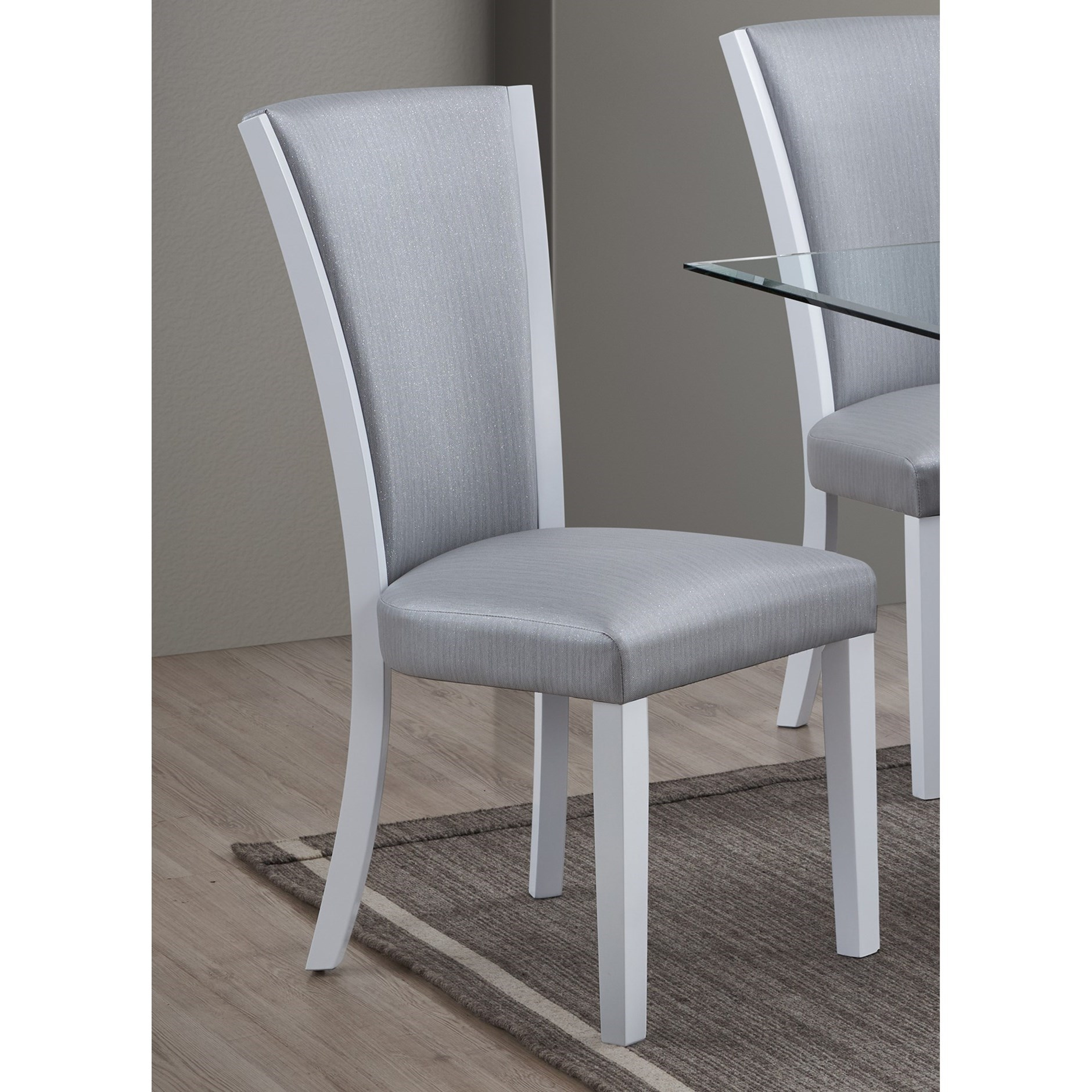 Platina Side Chair by New Classic at Beds N Stuff