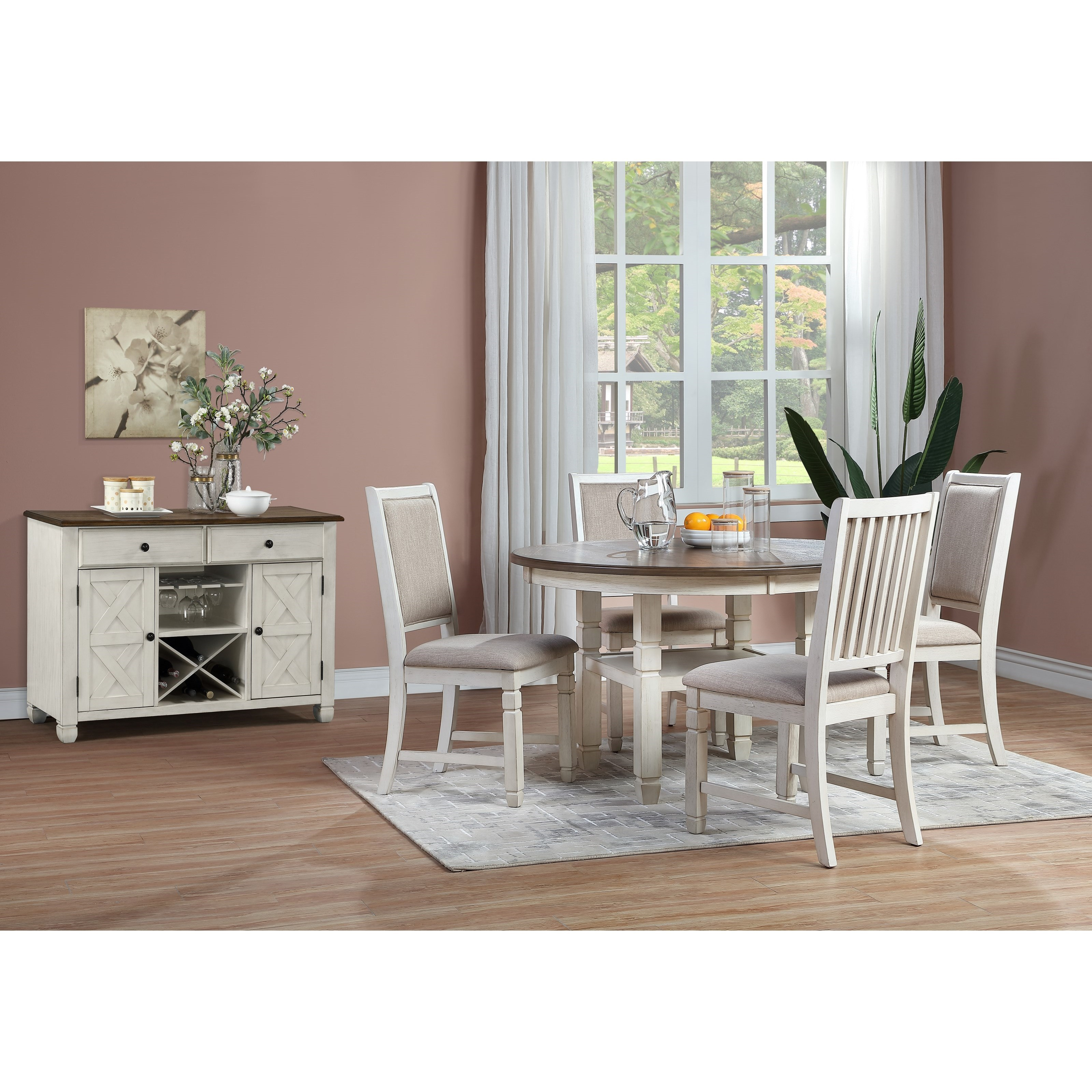Prairie Point Dining Room Group by New Classic at Beds N Stuff