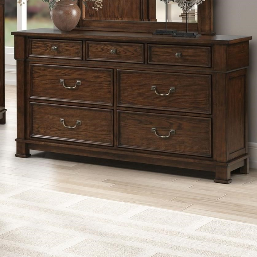 Providence Dresser by New Classic at Wilcox Furniture