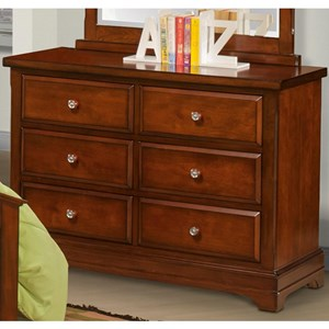 Casual 6 Drawer Dresser