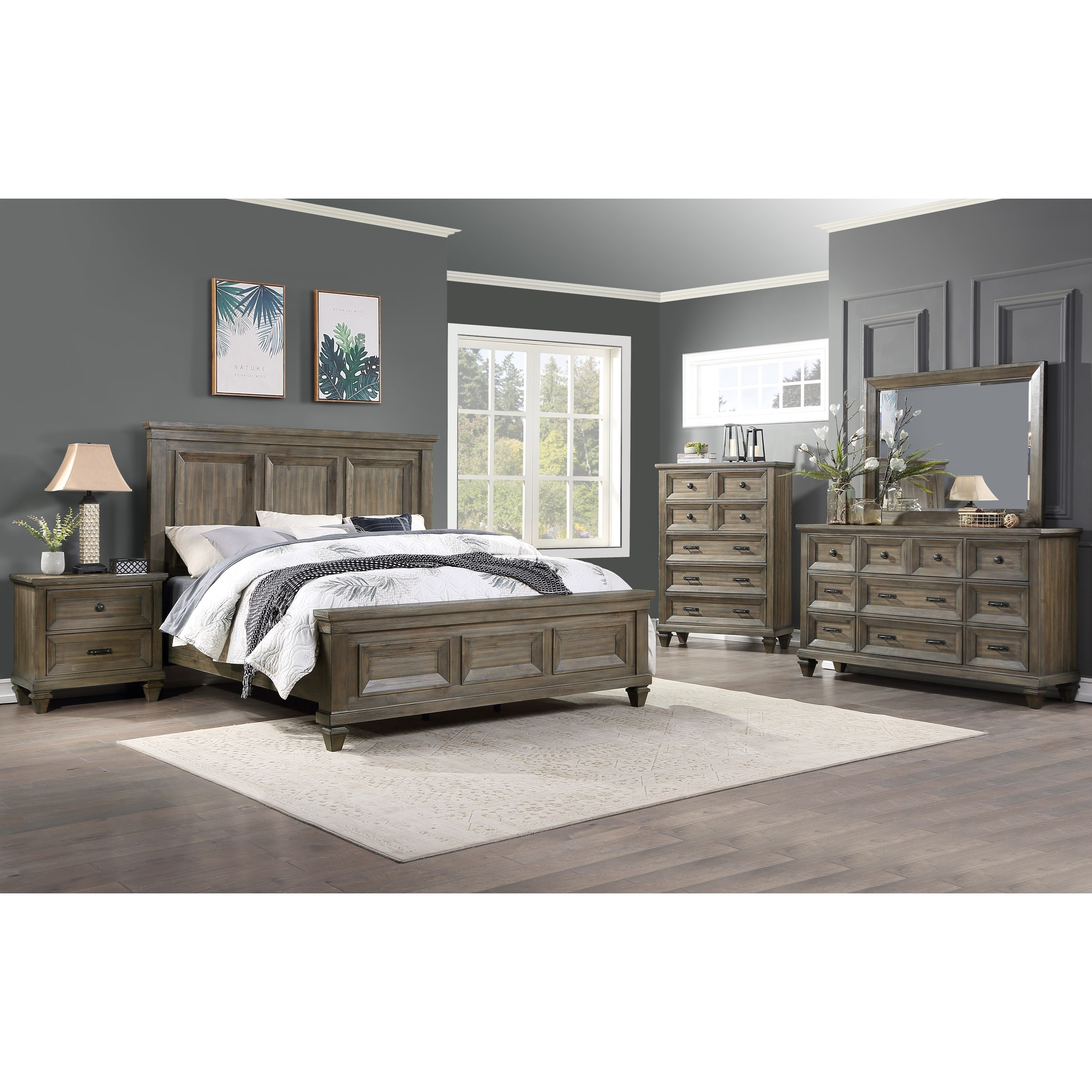 Sevilla  California King Bedroom Group by New Classic at Rife's Home Furniture