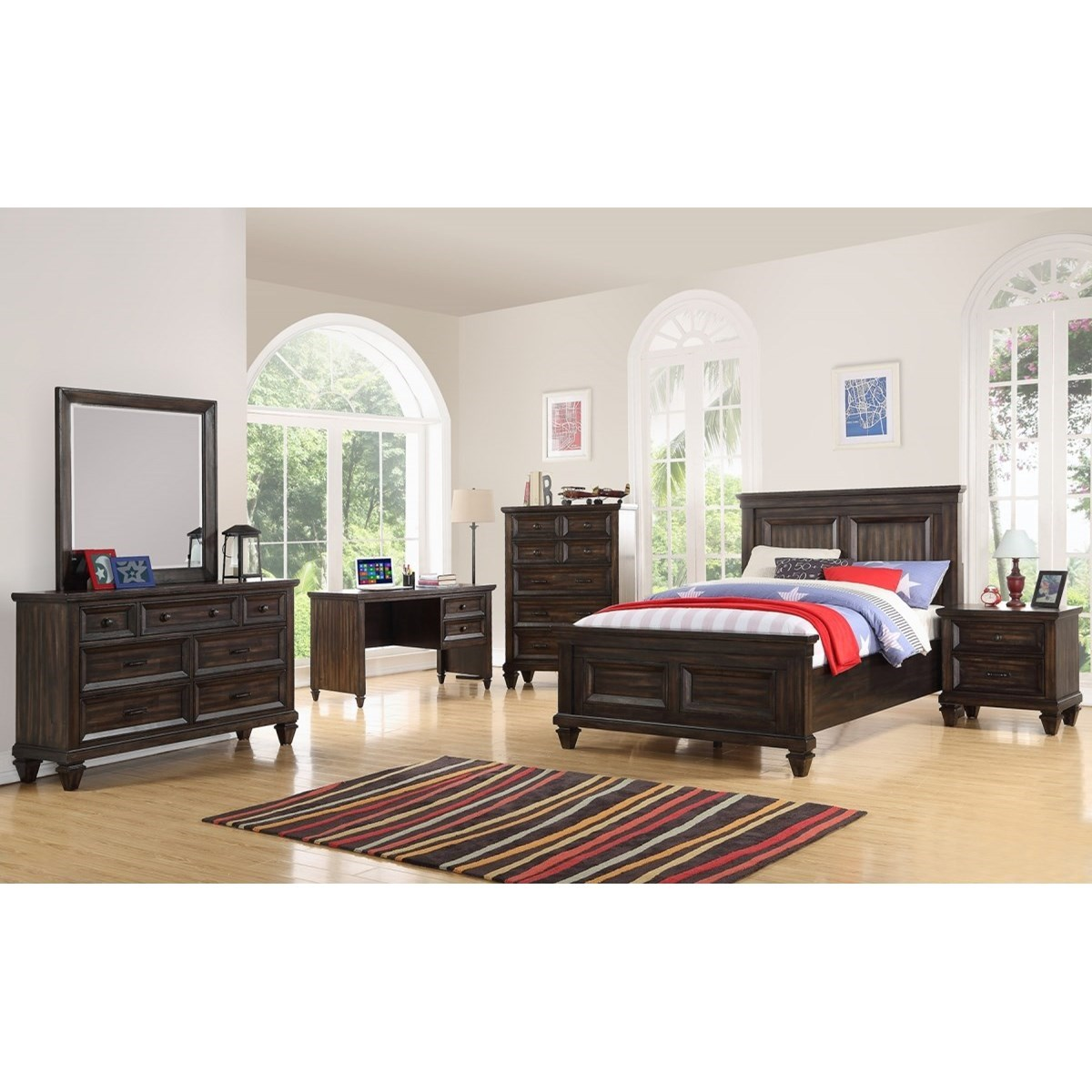 Sevilla Twin Bedroom Group by New Classic at Beck's Furniture