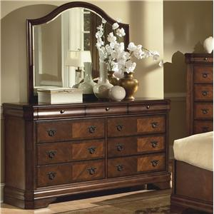 New Classic Sheridan Dresser and Mirror