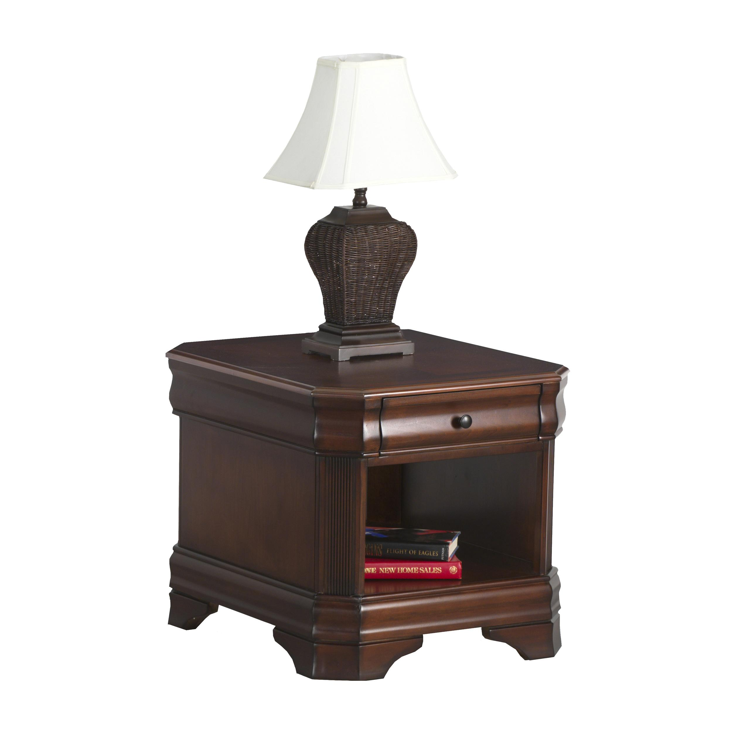 Sheridan Drawer End Table by New Classic at Lapeer Furniture & Mattress Center