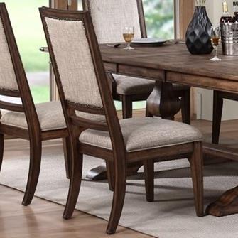 Sutton Manor Side Chair at Lapeer Furniture & Mattress Center