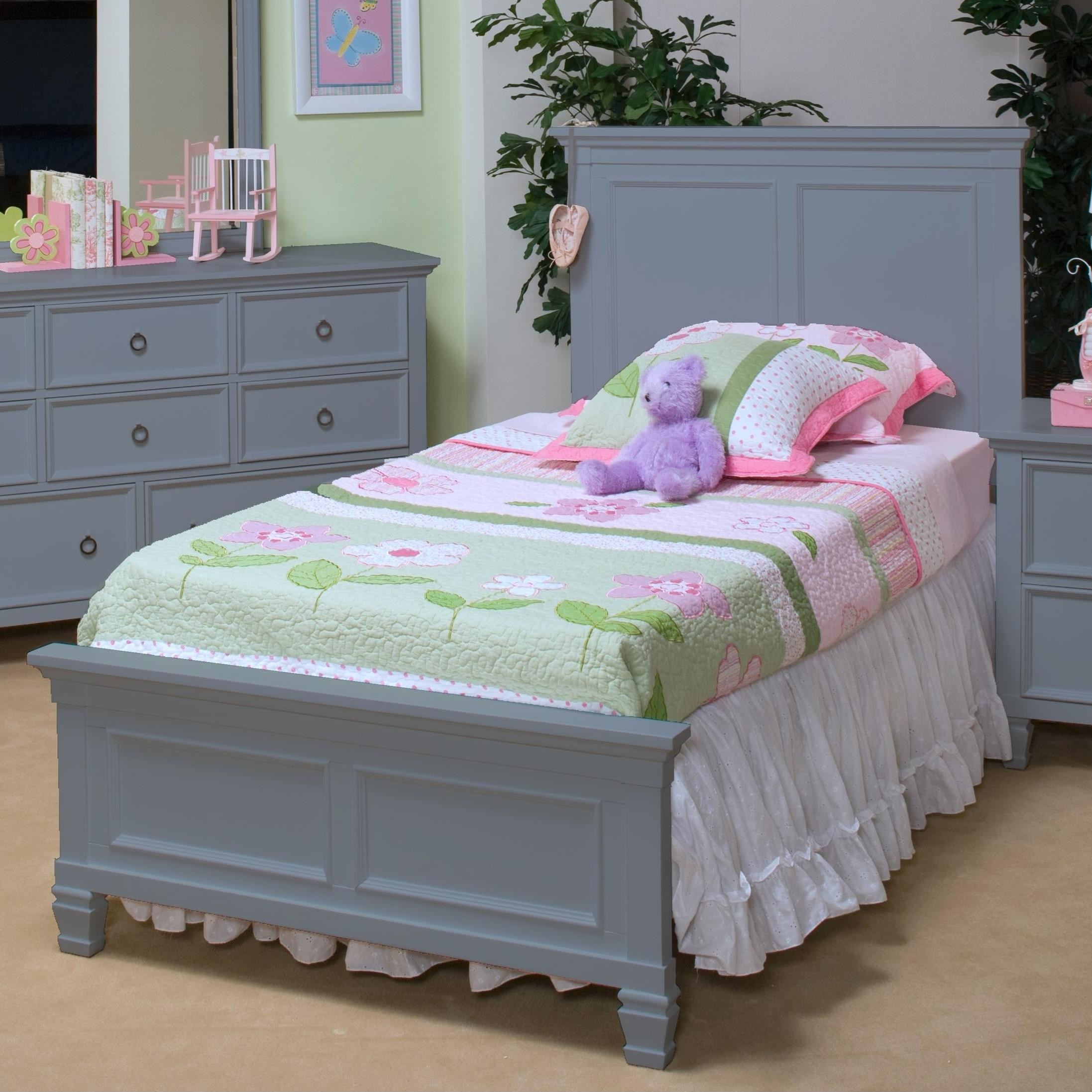 Tamarack Full Panel Bed by New Classic at Beds N Stuff