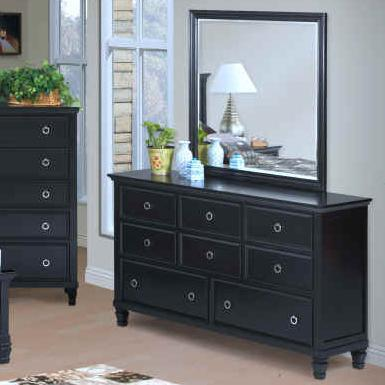 Tamarack Dresser and Mirror Set by New Classic at Darvin Furniture