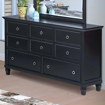 Tamarack 8-Drawer Dresser by New Classic at Beck's Furniture