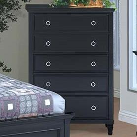 Tamarack 5-Drawer Chest by New Classic at Beck's Furniture