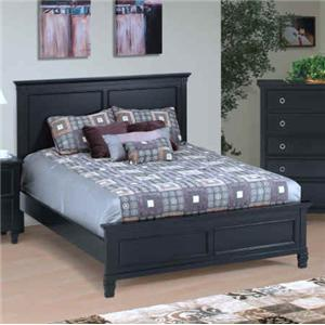 Queen Panel Headboard and Footboard Bed