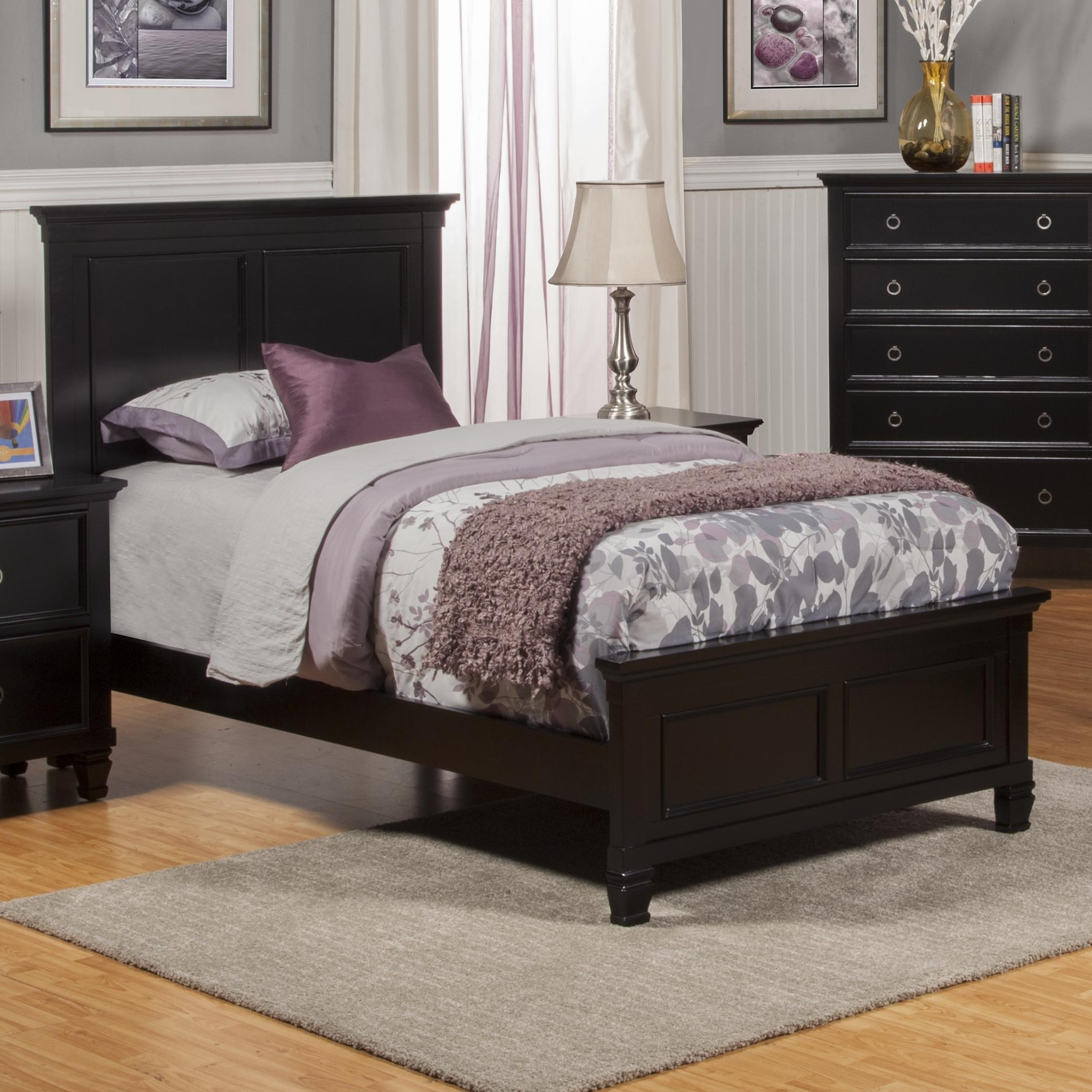 Tamarack Twin Panel Bed by New Classic at Darvin Furniture