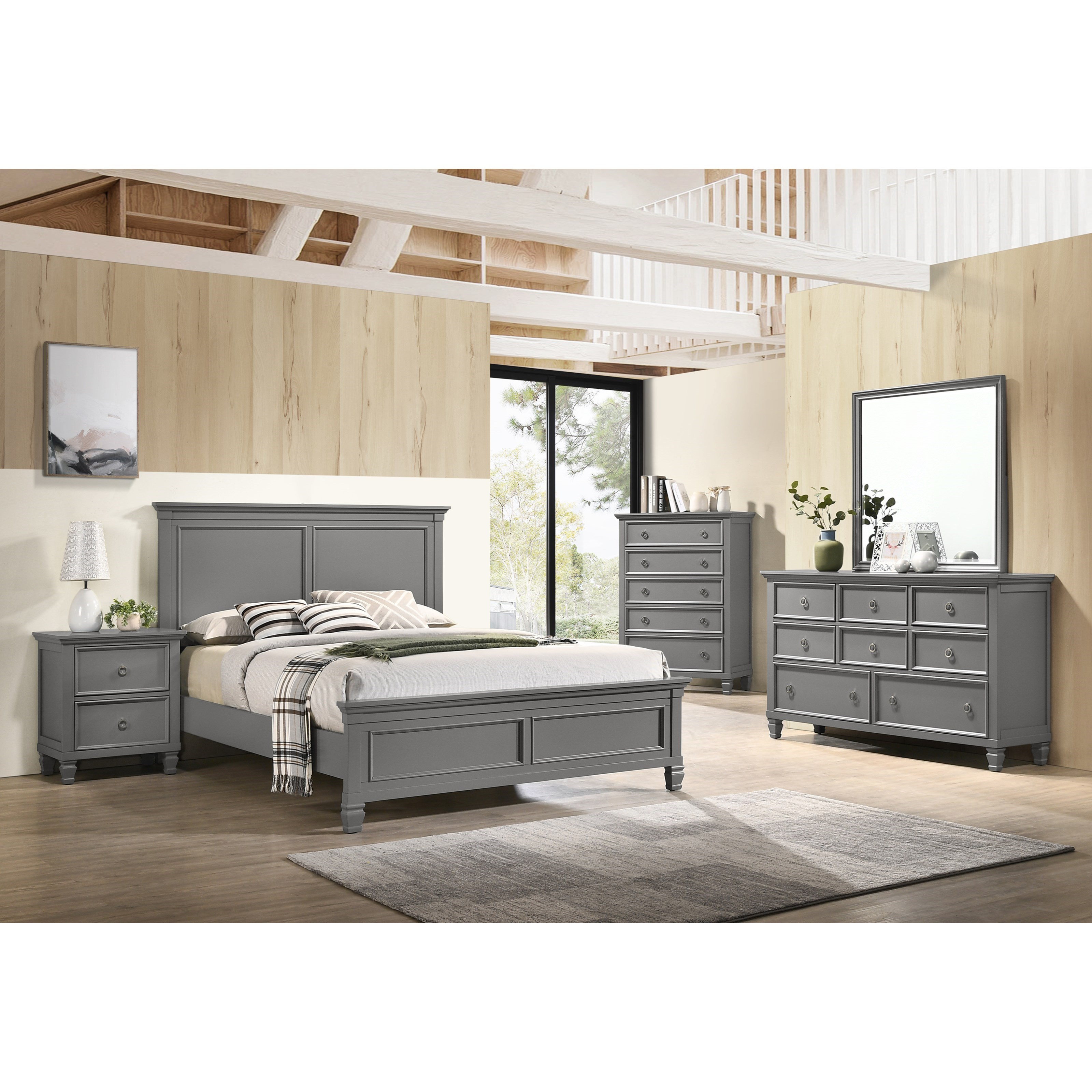 Tamarack Full Bedroom Group  by New Classic at Beds N Stuff