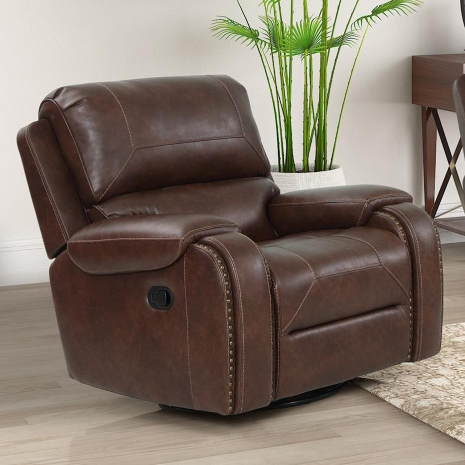 Taos Glider Recliner by New Classic at Beck's Furniture