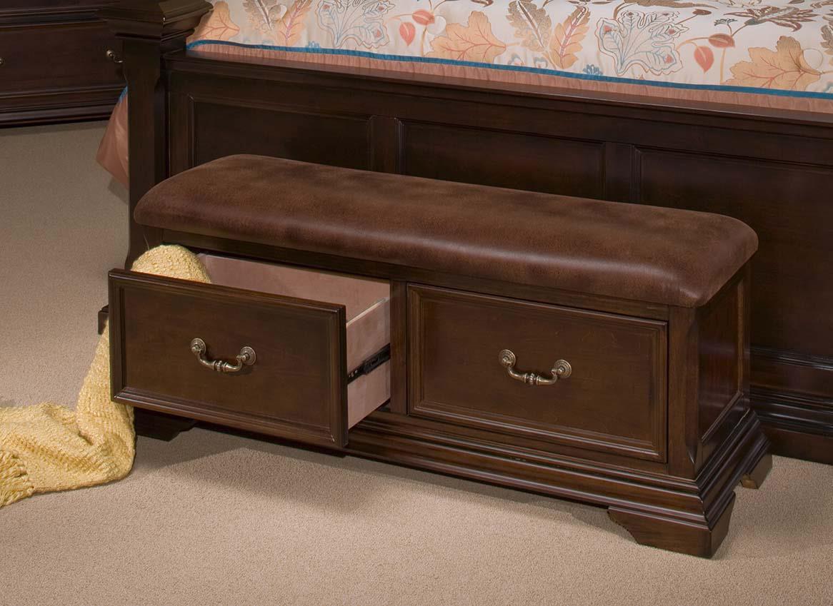 Timber City Storage Bench at Lapeer Furniture & Mattress Center