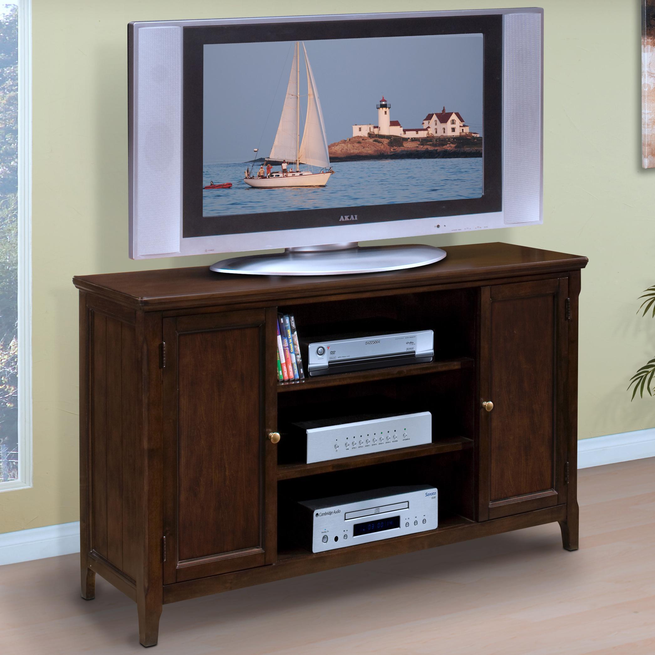 "Timber City 60"" TV Console at Lapeer Furniture & Mattress Center"