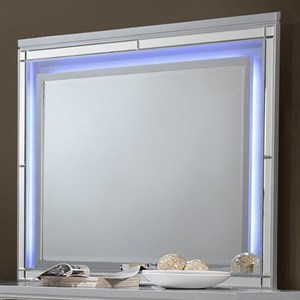 Dresser Mirror with LED Lighting